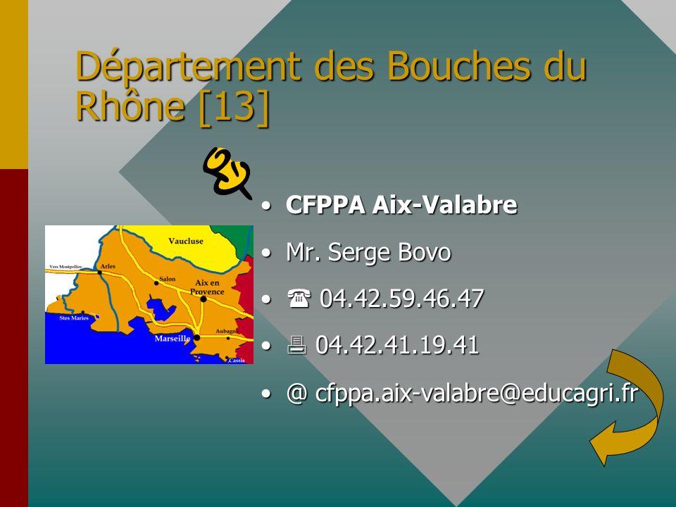 Département des Bouches du Rhône [13]